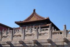 Palace of Heavenly Purity Qianqinggong in Forbidden city, Beijing Stock Image