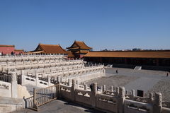 Palace of Heavenly Purity Qianqinggong in Forbidden city, Beijing. China royalty free stock photos