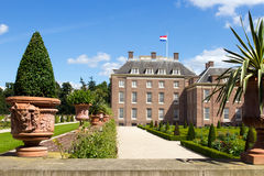 Palace het Loo. Palace 'het Loo' and gardens. Apeldoorn, The Netherlands Royalty Free Stock Images