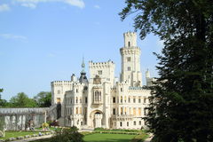 Palace Hluboka Royalty Free Stock Photography