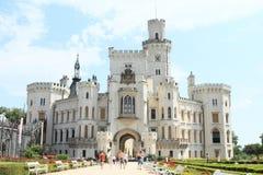 Palace Hluboka Royalty Free Stock Image