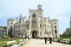 Palace Hluboka Stock Image