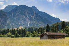 Palace Hohenschwangau Stock Photo