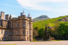 The Palace of Holyrood house Stock Image
