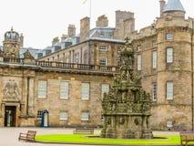 Palace of Holyroodhouse. Edinburgh, Scotland, UK stock photo