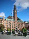 Palace Hotel in Copenhagen Royalty Free Stock Image