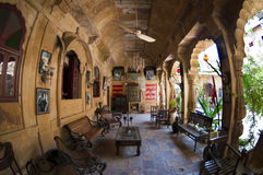 A palace hotel in Jaisalmer, India Stock Image