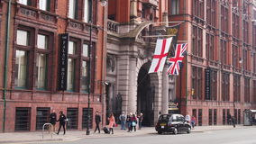 The Palace Hotel, Manchester, England stock photo