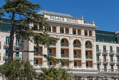 Palace hotel in Portoroz, Slovenija Stock Photography