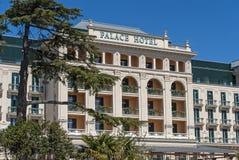 Palace hotel in Portoroz, Slovenija stock photography