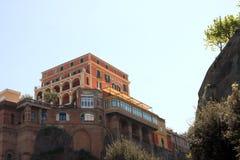 Palace Hotel Sorrento Italy Stock Images