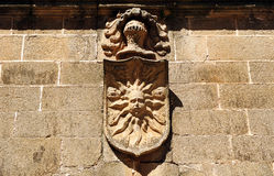 Palace house of the Sun, Caceres, Extremadura, Spain Royalty Free Stock Image