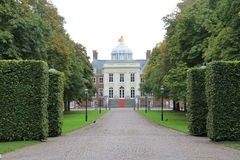 Palace Huis ten Bosch. The palace is  located in The Hague in the Netherlands. It has been home to Queen Beatrix since 1981 Royalty Free Stock Photography