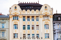 Palace of the Hungarian exchange bank, Bratislava Royalty Free Stock Images
