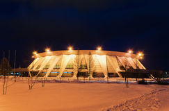Palace of ice sports in Russia Royalty Free Stock Images