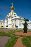 Palace In Peterhof Stock Photography