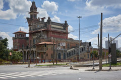 Palace of Industries building in Sao Paulo. City, Brazil Royalty Free Stock Image