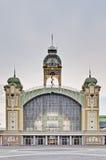 Palace of industry at Prague Stock Photos