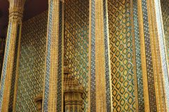 PALACE INTERIOR IN曼谷泰国国王 免版税库存图片