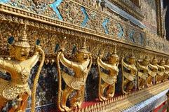 PALACE INTERIOR IN曼谷泰国国王 免版税库存照片