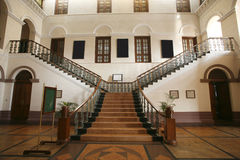 Palace interior wide staircase Stock Photography