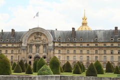 Palace Invalides Royalty Free Stock Photo