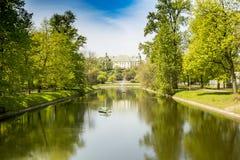 Palace on the island, Royalty Free Stock Photos