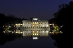 Palace on the Island in Lazienki park Royalty Free Stock Photography