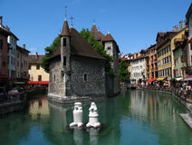 Palace of the Isle, Annecy FR Royalty Free Stock Photo
