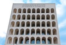 Palace of Italian Civilization Royalty Free Stock Images