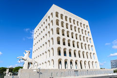 The Palace of Italian Civilization Royalty Free Stock Image