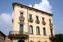Palace in Italy Stock Image