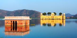 The palace Jal Mahal Royalty Free Stock Images