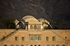 Palace Jal Mahal India stock image