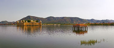 The palace Jal Mahal, Jaipur, India. Stock Images