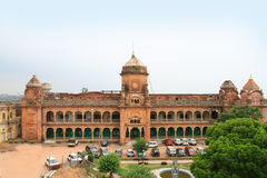 Palace in Jammu (India). Jammu is the largest city in the Jammu Division and the winter capital of state of Jammu and Kashmir Royalty Free Stock Photography