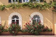 Palace of Johannisberg. Courtyard of Palace of Johannisberg in the Rheingau, Hesse, Germany Stock Image