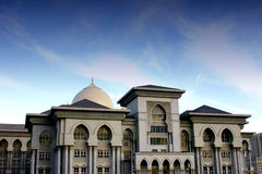 Palace of Justice. In Putrajaya, Malaysia stock image