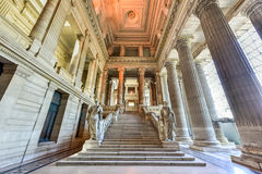 Palace of Justice - Brussels, Belgium royalty free stock photos