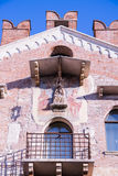 The Palace of Justice in the center of Soave, Italy. Royalty Free Stock Image