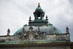 Palace of Justice, historic building in Munich, sights Royalty Free Stock Photo