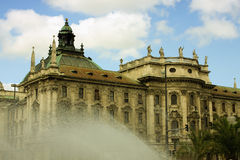 The Palace of Justice (Justizpalast) in Munich (Bavaria, Germany stock images