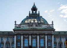 Palace of Justice - Justizpalast in Munich, Bavaria, Germany stock photos