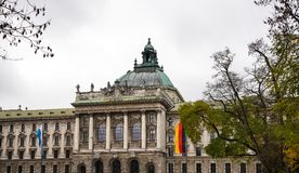 Palace of Justice - Justizpalast in Munich, Bavaria, Germany stock image