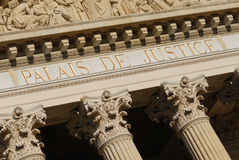 Palace of Justice in Nice Royalty Free Stock Photography