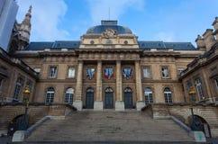 Palace of Justice. (Palais de Justice) in Paris, France Stock Image