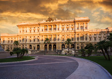 Palace of Justice (Palazzo di Giustizia). Rome. Stock Images