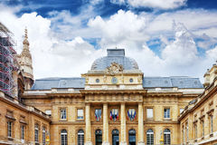 Palace of Justice, Paris, France. Royalty Free Stock Images