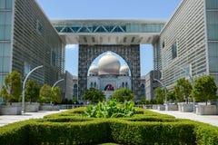 Palace of Justice, Putrajaya, Malaysia. PUTRAJAYA, MALAYSIA - MAY 25, 2015 : Palace of Justice (Istana Kehakiman) in the Federal centre of Malaysia on May 25 stock photo