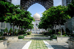 Palace of Justice in Putrajaya, Malaysia Stock Images